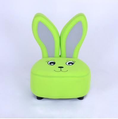 兒童沙發卡通兔子沙發凳超萌可愛兒童座凳寶寶單人小沙發-炫彩腳丫折扣店