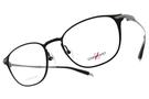 CHARMANT-Z 光學眼鏡 ZT19862 BK (黑-槍) 鈦金屬系列百搭款 平光鏡框 # 金橘眼鏡
