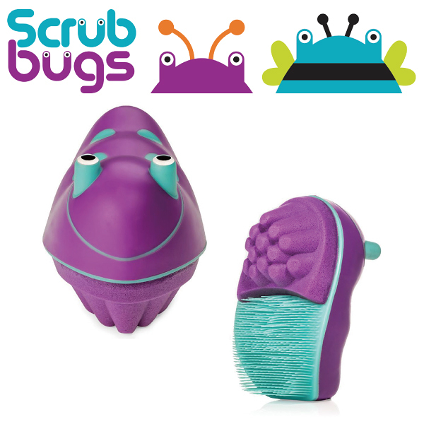 美國 Scrub Bugs 兒童洗手訓練刷(洗手蟲) 紫色