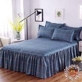 售完即止-床裙床裙單件防滑棉質加厚正韓床套1.8m2m床1.5m床單床笠床罩11-26(庫存清出T)