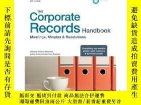 二手書博民逛書店The罕見Corporate Records Handbook: