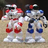 新威爾機器人玩具智慧遙控兒童教育感應跳舞電動警察消防機械戰警igo 溫暖享家