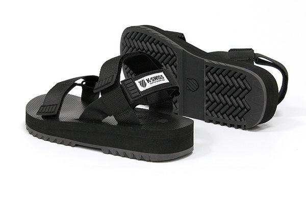 K-SWISS Pier休閒涼鞋-男女-黑