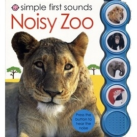 【開口字彙書系列】SIMPLE FIRST WORD:NOISY ZOO