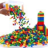 火箭子彈頭積木玩具智力拼裝拼插桌面幼兒園兒童益智男孩管道 情人節特別禮物