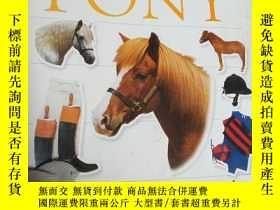 二手書博民逛書店Pony罕見Ultimate Sticker Book (Ult