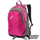 【PolarStar】休閒背包25L『桃紅』露營.戶外.旅遊.自助旅行.多隔間.登山背包.電腦背包 P15811-102
