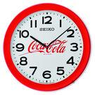 SEIKO精工 Coca-Cola 可口可樂聯名掛鐘(QXA922R)-36.8cm QXA922R
