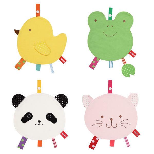 【Aprica】 造型口水巾 (小雞/青蛙/貓熊/貓咪)