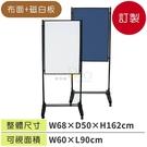 (預定品)台灣製造小型白磁板+布面海報架WSW-609B☆廠拍清倉下殺52折+分期零利率☆公布欄/廣告架☆