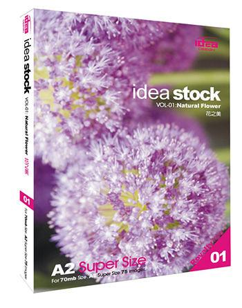 【軟體採Go網】IDEA意念圖庫 Idea Stock系列(01)花之美★廣告設計花草植物影像素材★