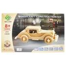 DIY木質3D立體拼圖 G-P018 奧本仿古車/一個入(促99) 大2片入 汽車模型 木製模型 四聯組合式拼圖-鑫