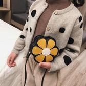 清新花朵小童包包女寶寶可愛斜背包公主側背包兒童配飾小包潮魔法鞋櫃