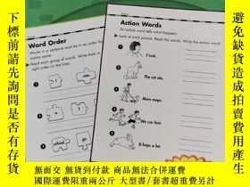 二手書博民逛書店Scholastic罕見Success With Grammar, Grade 1 (書內有鉛筆字跡劃線!!)