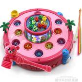兒童玩具 兒童釣魚玩具男孩4打地鼠寶寶6益智音樂游戲機小孩5女孩1-2-3歲半 城市科技