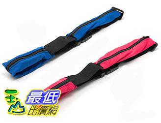 [玉山最低比價網] 雙口袋神奇魔術隱形腰包 隨身 運動腰包 慢跑腰包 單車包 ( L406)