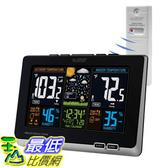 [8美國直購] 天氣觀測 溫度濕度計 La Crosse Technology 308-1414B-INT 308-1414B Wireless Atomic Digital Color