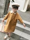 女童裝春裝年春節新款洋氣春秋款寶寶兒童小童公主連身裙子潮(聖誕新品)