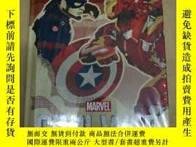 二手書博民逛書店Marvels罕見Captain America: Civil