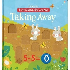 【加減法入門操作書】FIRST MATH SLIDE & SEE: TAKING AWAY