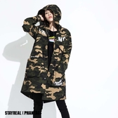 STAYREAL x PHANTACi 連帽長版外套
