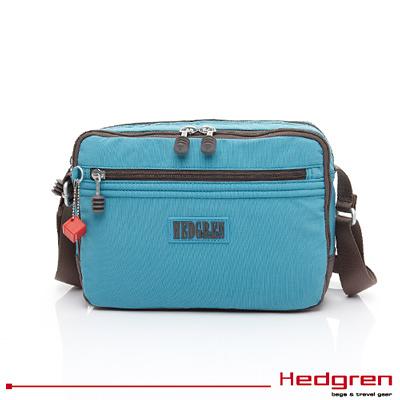 Backbager 背包族【比利時Hedgren】Great American 偉大美國系列 - 側背包/ 斜背包(土耳其藍色)