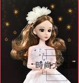 芭比洋娃娃玩具套裝女孩公主夢想豪宅家家酒玩具【時尚大衣櫥】