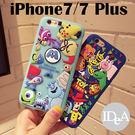 迪士尼 iPhone7/7 Plus 玩具總動員 怪獸電力公司 立體矽膠手機保護套 軟殼 毛怪 大眼仔 胡迪 巴斯