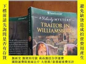 二手書博民逛書店Traitor罕見in Williamsburg(《威廉斯堡的叛