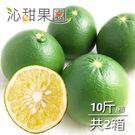 沁甜果園SSN.綠寶石蜜柚(10斤裝/箱,共2箱)*預購*﹍愛食網