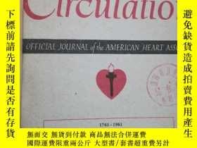 二手書博民逛書店Circulation.罕見An Official Journal of the American Heart A