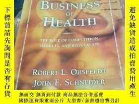 二手書博民逛書店The罕見Business of Health: The Role of Competition, Markets
