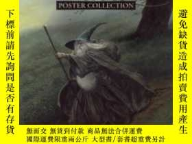 二手書博民逛書店Images罕見Of Middle-earth: Poster CollectionY256260 John