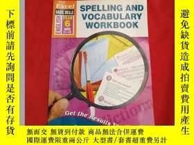 二手書博民逛書店SPELLING罕見AND VOCABULARY WORKBOO