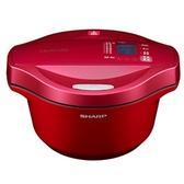 SHARP夏普【KN-H24TB】2.4公升 0水鍋 (紅色)