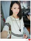 ✿ 3C膜露露 ✿韓版女裝白色氣質修身短...