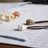 定制轉運石情侶項鍊一對學生簡約文藝定制刻字男女創意陶瓷飾韓版吊墜【諾克男神】