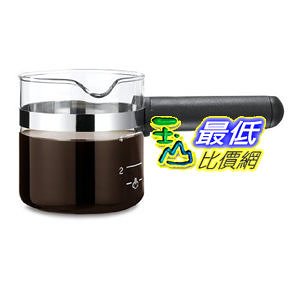 [美國直購 ShopUSA] 耳機 Medelco 4 Cup Universal Glass Espresso Replacement Carafe, Black B000TD3D2A $918
