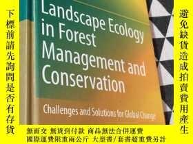 二手書博民逛書店Landscape罕見Ecology in Forest Management and Conservation