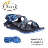 【速捷戶外】美國 Chaco  Z/CLOUD 紓壓運動涼鞋 女款CH-ZLW02HE35 -夾腳(尋蹤日蝕),戶外涼鞋,,佳扣