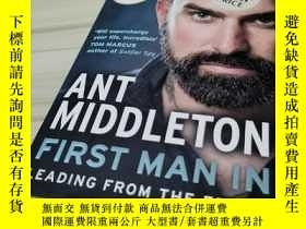 二手書博民逛書店前線領導(螞蟻安東尼)英文原版罕見First Man In: Leading from the Front Ant