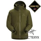 【Arc'teryx 始祖鳥】男 單件式GORE-TEX化纖保暖外套 (內裡:CORELOFT)『深苔蘚綠』L06926