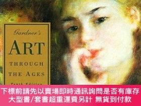 二手書博民逛書店Gardners罕見Art Through the Ages, Renaissance and Modern Ar