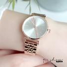 Lilac.IEKE品牌。光澤亮面斜角鑽金屬鍊帶手錶腕錶【ta612】911 SHOP