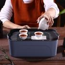 茶盤 茶盤功夫茶具配件旅行茶盤車載茶盤收納盒工地茶盤辦公茶盤便攜式茶盤