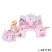 LICCA莉卡娃娃場景組 魔法捲髮化妝台 (不含莉卡娃娃) 10817