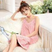睡衣女夏季純棉韓版可愛吊帶薄款性感甜美公主學生韓版睡裙少女