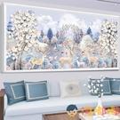 鉆石畫5d客廳十字繡滿鉆點貼鉆磚石貼畫秀水晶【淘嘟嘟】