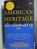 ~書寶 書T5 /原文小說_LCY ~The American Heritage Dictionary_3 e