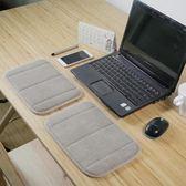海綿鍵盤手托辦公桌滑鼠墊午睡趴睡墊子電腦桌桌墊護腕護肘手肘墊 流行花園